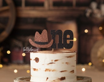 Cowboy Cake Topper / My First Rodeo Cake Topper / First Birthday / Cowgirl Party / Cowboy Party
