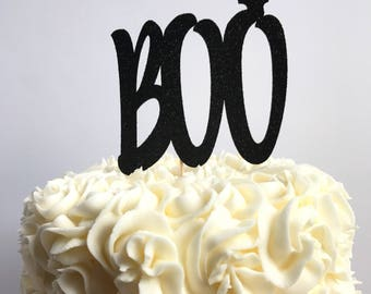Boo cake topper/ halloween cake topper/ halloween party
