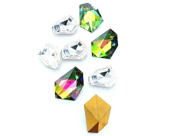 Swarovski vintage fancy stone. 4743 18.6x13.5mm and 22x16mm  Price is for 1 stone