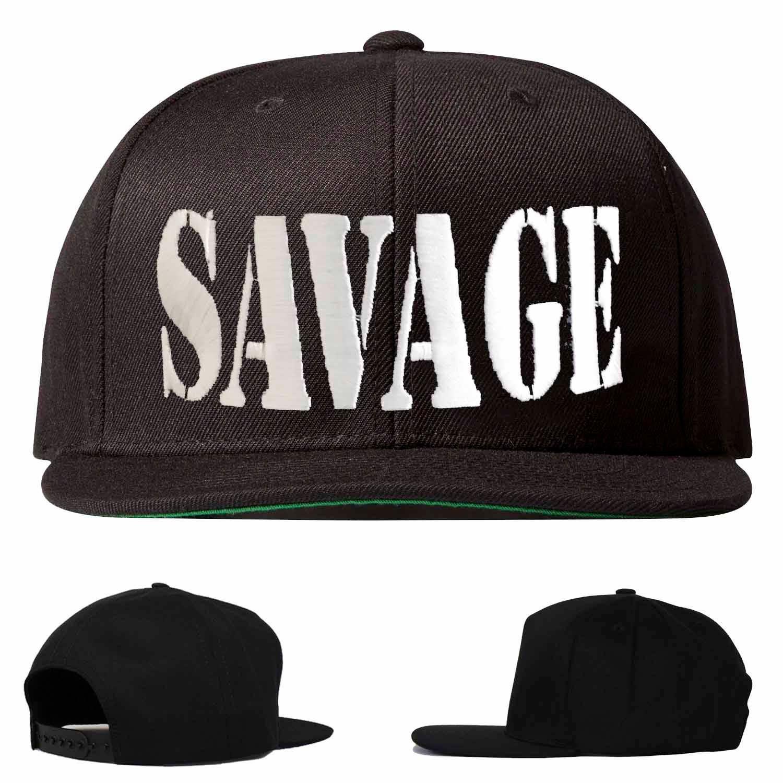 c2830cc6b22ff Savage hat savage snapback savage embroidered