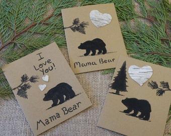 birch bark cards etsy