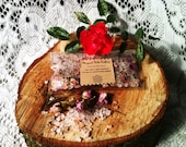 Bath Blend White sage, rosemary, Rose petals & Himalayan salt