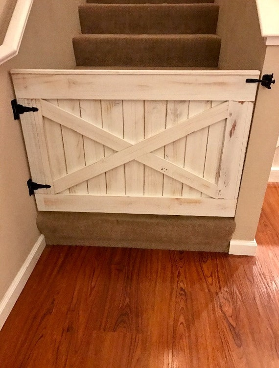 Rustic Dog Or Baby Gate Barn Door Style Etsy