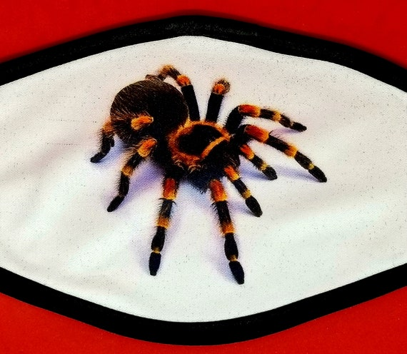 Face Mask Tarantula Image 3 Ply Sublimated Personal Etsy