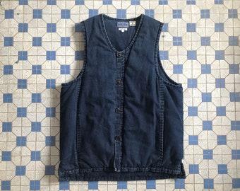 3b009cb9e5dec3 Blue Blue Japan Indigo Down Vest Kapital Kuon Porter Classic RRL 45rpm  Engineered Garments Junya Watanabe Snowpeak