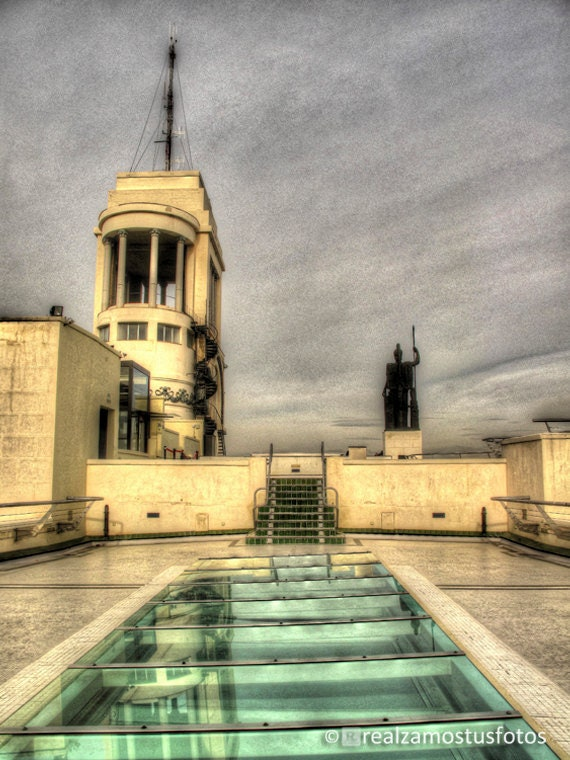 Foto Terraza Edificio Bellas Artes Madrid España Fotografía Artística Urbano ático Terraza Bar Soleado Ideales Vistas Madrid