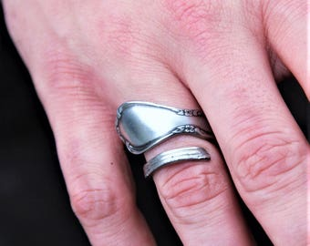 Men's size 10 spoon ring