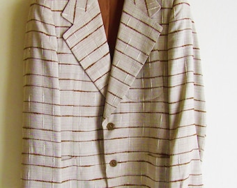 Wonderful jacket Men '50s / men's jacket /1950s/  1960s /rockabilly/mad men