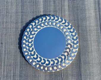 Mirror mosaic metal