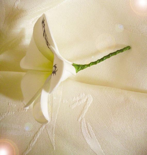 Mariage Fleur Frangipanier Fleur Exotique Tattoo Etsy