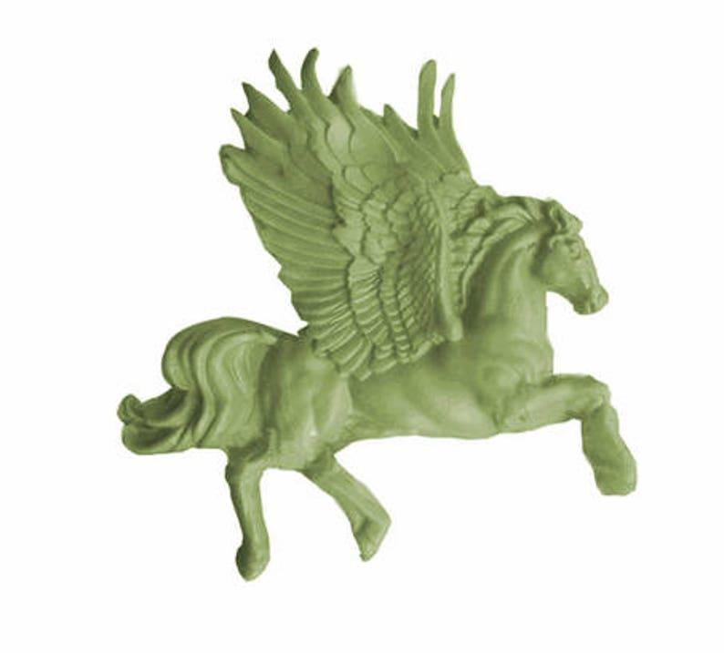 Pegasus / Flying Horse Silicone Mold image 0