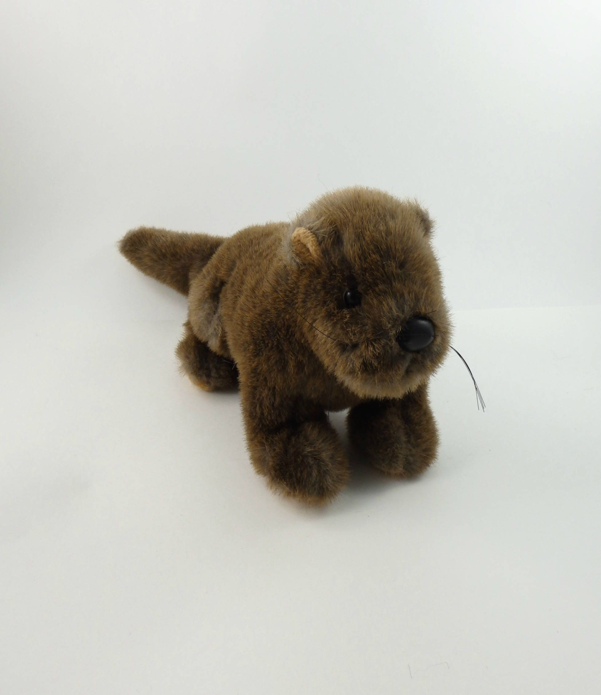 Vintage 90s Sea Otter Plush 24k Polar Puff Sea Otter Gifts Etsy