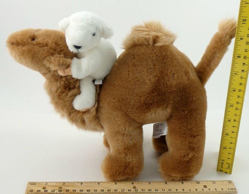 Hump Day Camel Vintage 80s Camel Plush Stuffed Camel Camel Lover North American Bear Company White Bear Dromedary Camel Gift