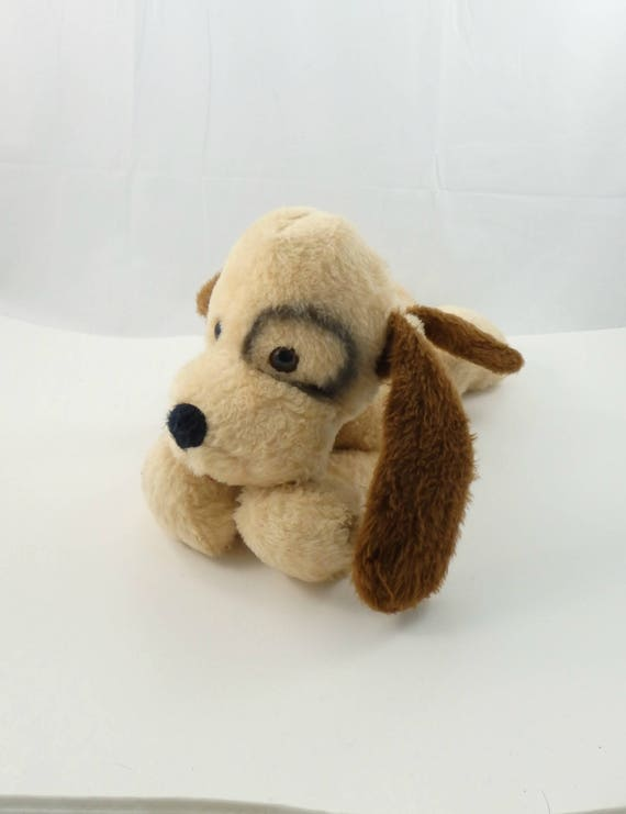 Vintage 70s Eye Spotted Dog Plush Animal Fair Plush Eye Etsy