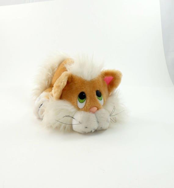 Vintage 80s Applause Plush Cat Plushie Cat Plush Toy Cat Etsy