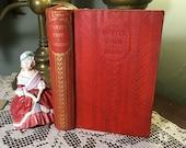 Thackeray Vanity Fair, 1910 Antique Book Classic Literature Victorian Classic Classic Novel English Classic Victorian Novel Comedy Tragedy