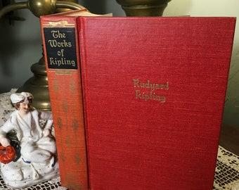 Ballads and Barrack-room Ballads 1893 Hardcover Works, Rudyard Kipling/c1930/B