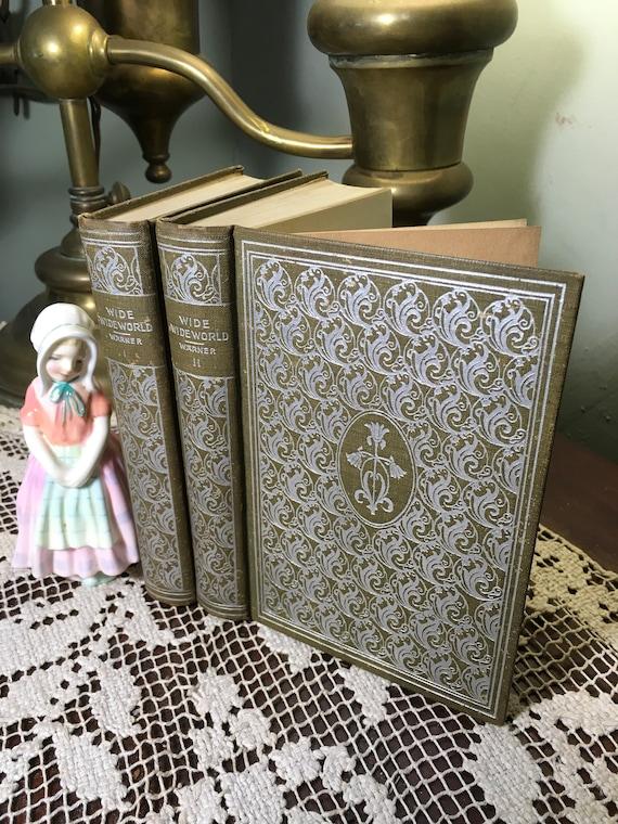 Susan Warner Wide Wide Worldc 1899antique Booksromance Etsy