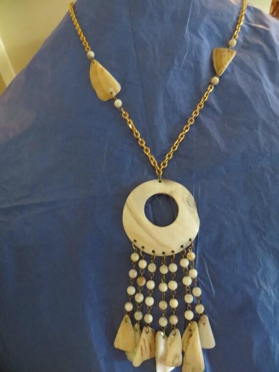 Turquesa fregona Shell encanto pulsera de la fabricación de joyas Kit