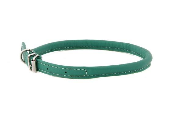 Cuir laminé chien doux couleur Turquoise tailles XXXS XXS XS S M de Long poils chien races chat chiot petit chien Mini Pet Show mode