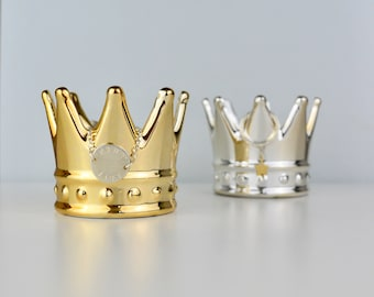 Ring Holder - Ring Dish - Crown - Peronalised -  Gold Or Silver - Jewellery Dish - Ring stand - Ring Stand - Princess - Queen - Bling
