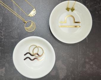 Zodiac Jewellery Trinket Dish - Star Sign Gift