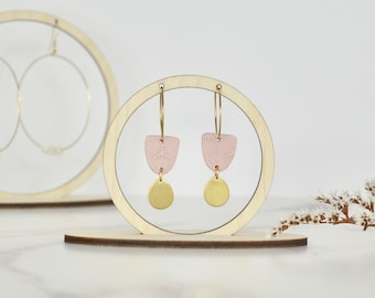 Earring Display Stand - Set of Three - Circles