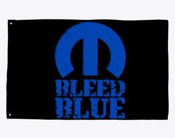 Bleed Blue Flag