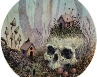 Little Forest Spirits: Art Print