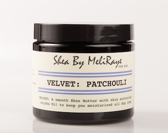 Velvet: Patchouli Whipped Shea Butter for Him