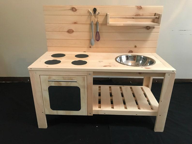 Mud Kitchen With Oven Door image 0