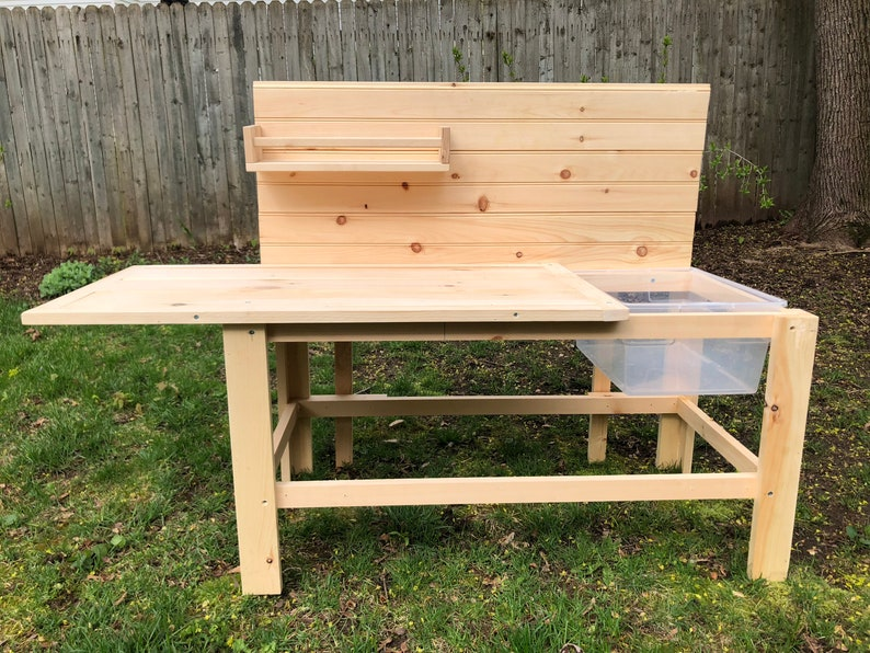 Single Sink Mud Kitchen with out lower shelf image 0