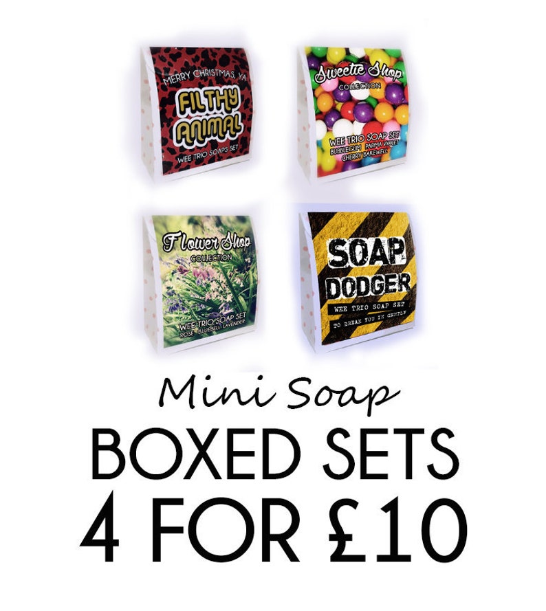 4 x Wee Trio Soap Set Boxed Sets image 0