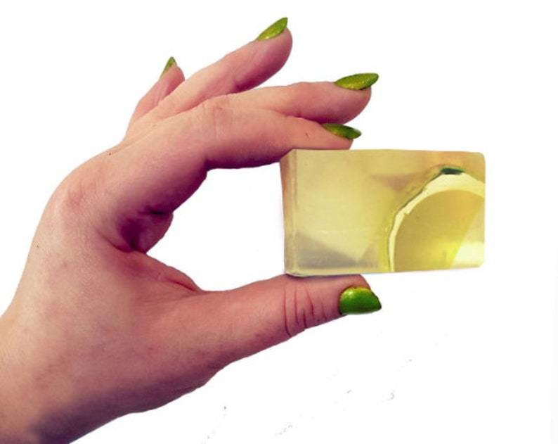 Gin & Tonic 25g Wee Mini Guest Soap. Vegan Natural SLS and image 0