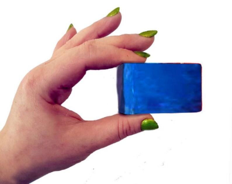 Highland Heather Wee Mini Soap Guest Slice 25g Vegan Natural. image 0