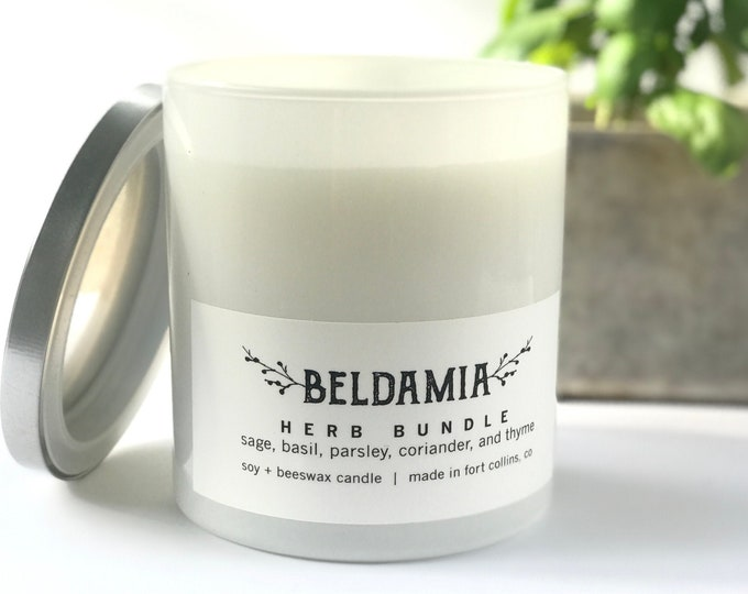 Herb Bundle Soy Candle