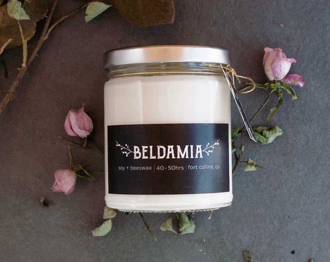 Rose Water Soy Candle