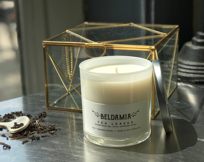 Tea Leaves Soy Candle