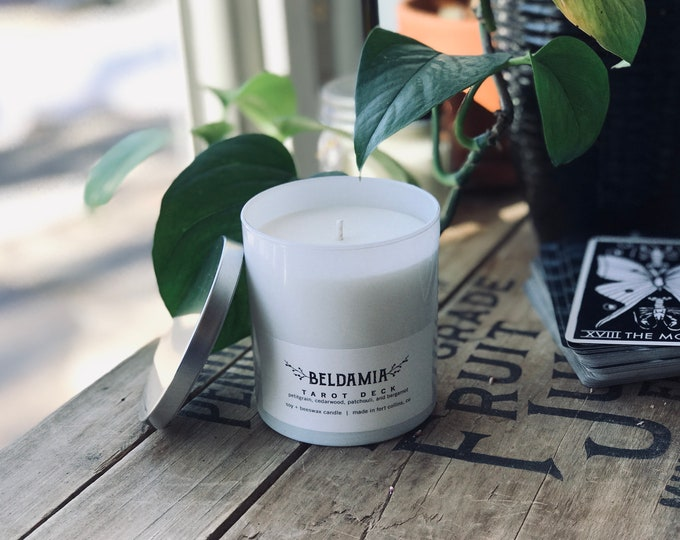 Tarot Deck Soy Candle