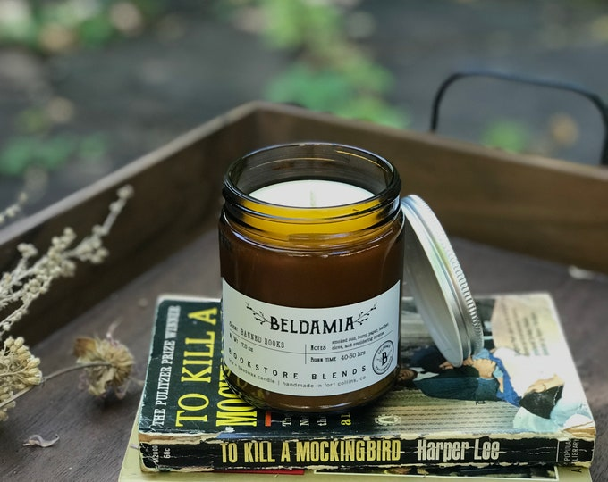 Banned Books Soy Candle