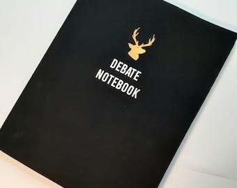 The Debate Correspondent Notebook