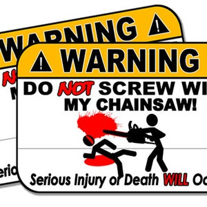 Our Life Toolbox Warning Decal Sticker Funny Gag Gift for Dad Father 4 Wide x 2 Tall Work Truck Mechanic