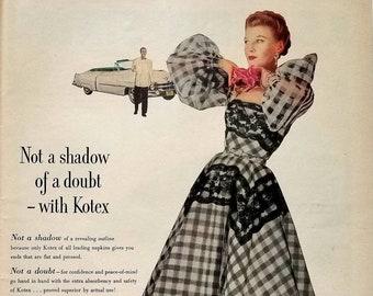 1958 Prell Shampoo Vintage Advertisement Bathroom Wall Art Beauty Salon Decor Beautician Art Original Magazine Print Ad Unique Art