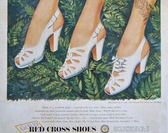 bb570f3eaacbb White shoe ad | Etsy