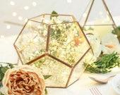 Glass Geometric Terrarium Wedding Table Decor Succulent Planter Air Plants Glass Vase Terrarium Kit Terrarium Gift Terrarium Centerpiece