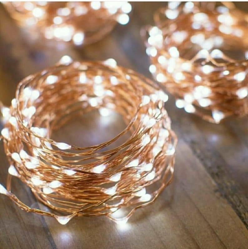 5 Meter/16 Feet Micro LED Fairy string light 5M/50 lights image 0