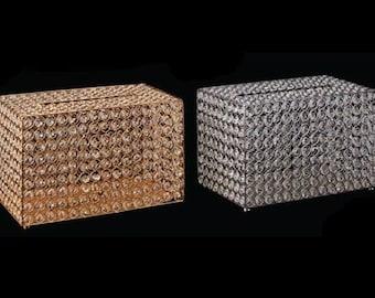 Silver Bling Crystal Money/Gift Box