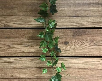 6FT Green English Ivy Garland/ Faux Garlands/Vines/Greenery/Wedding Centerpieces/Home Decor/Faux Vines/Silk Vines/Garlands