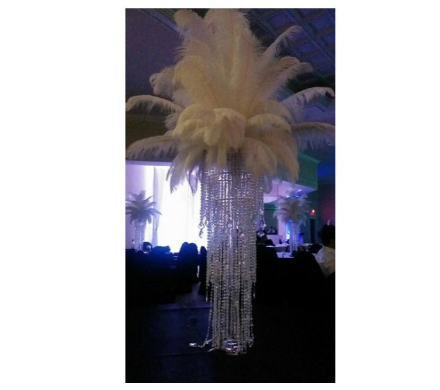 Diy Ostrich Feather Chandelier