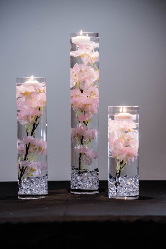 Submersible Pink Or White Cherry Blossom Floral Wedding Etsy